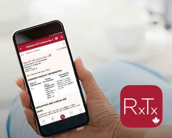 ICPS on the RxTx Mobile app